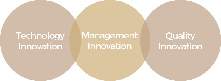 Technology Innovation, Management Innovation, Quality Innovation
